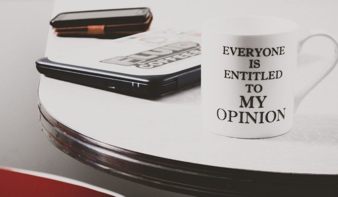 Relax. You Don't Need to Have an Opinion on Everything