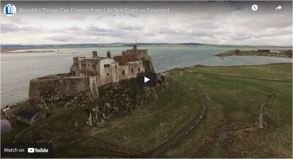beautiful things can emerge from life not going as expected video